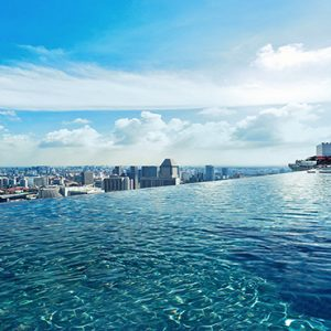 Marina Bay Sands Luxury Singapore Holiday Packages Infinity Rooftop Pool