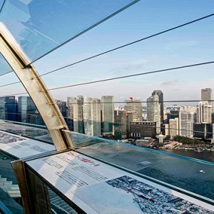 Marina Bay Sands Luxury Singapore Holiday Packages Observation Deck