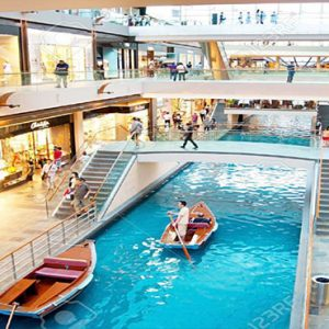 Marina Bay Sands Luxury Singapore Holiday Packages The Shoppes Along Canal