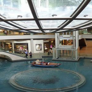Marina Bay Sands Luxury Singapore Holiday Packages The Shoppes Along Canal1