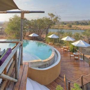 Pool Villa - Azura Selous Game Reserve - Luxuxry Tanzania Holidays