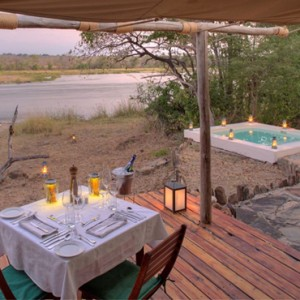 dining 2 - Azura Selous Game Reserve - Luxuxry Tanzania Holidays