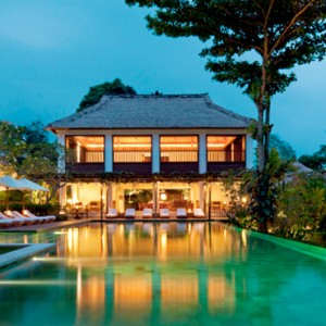 night view - COMO Uma Ubud - Luxury Bali Holidays