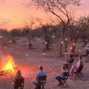 sunset - Azura Selous Game Reserve - Luxuxry Tanzania Holidays