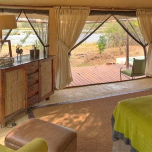 tented Villas 10 - Azura Selous Game Reserve - Luxuxry Tanzania Holidays