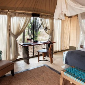 tented Villas 14 - Azura Selous Game Reserve - Luxuxry Tanzania Holidays