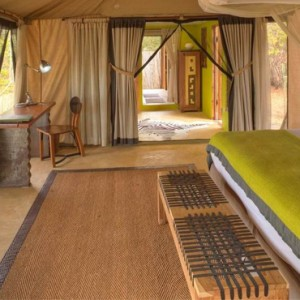 tented Villas 2 - Azura Selous Game Reserve - Luxuxry Tanzania Holidays