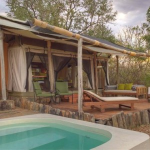 tented Villas 3 - Azura Selous Game Reserve - Luxuxry Tanzania Holidays