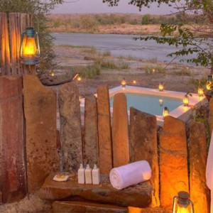 tented Villas 5 - Azura Selous Game Reserve - Luxuxry Tanzania Holidays