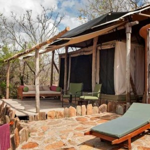 tented Villas 9 - Azura Selous Game Reserve - Luxuxry Tanzania Holidays