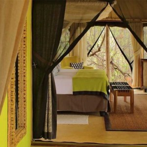 tented Villas - Azura Selous Game Reserve - Luxuxry Tanzania Holidays