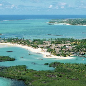 Constance Le Prince Maurice - Luxury Mauritius Holiday Package - aerial view