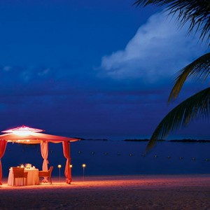 Constance Le Prince Maurice - Luxury Mauritius Holiday Package - beach dinner