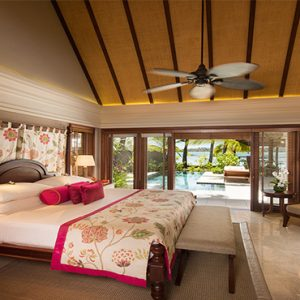 Constance Le Prince Maurice Luxury Mauritius Holiday Package Princely Villa Master Bedroom