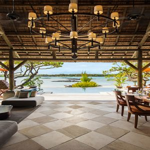 Constance Le Prince Maurice Luxury Mauritius Holiday Package Princely Villa Outdoor Dining