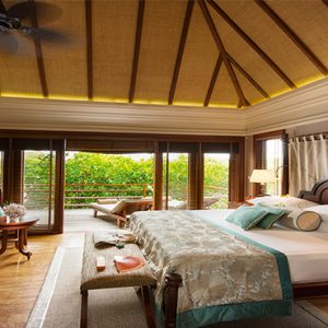 Constance Le Prince Maurice Luxury Mauritius Holiday Package Villa On Stilts Bedroom