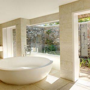 Outrigger Mauritius Beach Resort Luxury Mauritius Holiday Packages Beachfront Senior Suite Bathroom