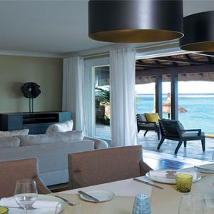 Outrigger Mauritius Beach Resort Luxury Mauritius Holiday Packages Beachfront Villa Dining