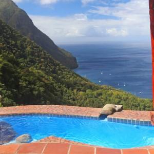 Rainbow Suite - Ladera St Lucia - Luxury St lucia Holidays