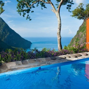 The Suites And Villa At Paradise Edge - Ladera St Lucia - Luxury St lucia Holidays