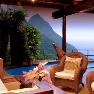 villa - Ladera St Lucia - Luxury St lucia Holidays