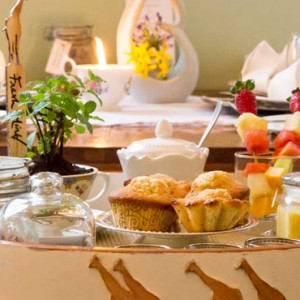 breakfast- Giraffe Manor - Luxury Kenyan Honeymoon Packages