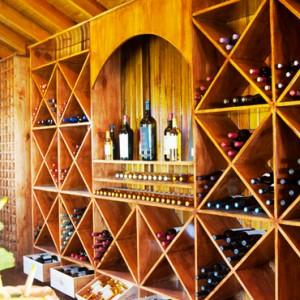 wine cellar - Ladera St Lucia - Luxury St lucia Holidays