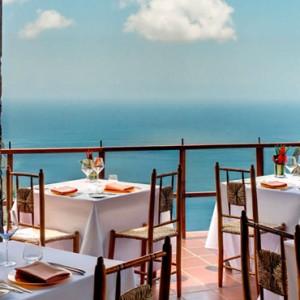 dashnee restaurant - Ladera St Lucia - Luxury St lucia Holidays