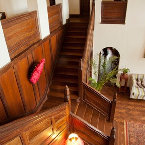 entrance hall - Giraffe Manor - Luxury Kenyan Honeymoon Packages