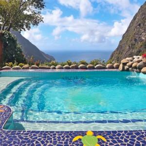 pool - Ladera St Lucia - Luxury St lucia Holidays