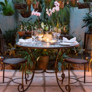 private dining- Giraffe Manor - Luxury Kenyan Honeymoon Packages