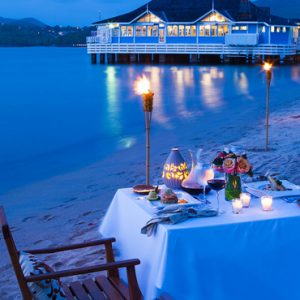 Luxury St Lucia Holiday Packages St Lucia Weddings Dining