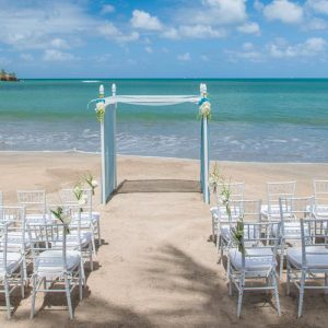Luxury St Lucia Holiday Packages St Lucia Weddings Wedding Beach Setup