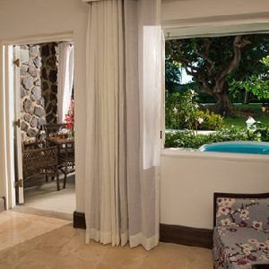 St Lucia Holiday Packages Sandals Halcyon Beach Grand Luxe Club Level Walkout Room W Patio Tranquility Soaking Tub2