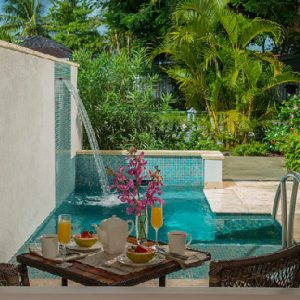 St Lucia Holiday Packages Sandals Halcyon Beach Honeymoon Butler Room W Private Pool Sanctuary3