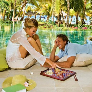 board games - lux le morne mauritius - luxury mauritius holiday packages