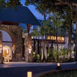 entrance - Shangri La Le touessrock - Luxury Mauritius holidays