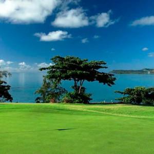 golf - Shangri La Le touessrock - Luxury Mauritius holidays