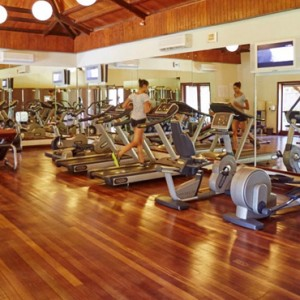 gym - lux le morne mauritius - luxury mauritius holiday packages