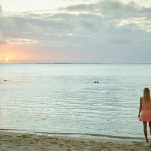 sunset - lux le morne mauritius - luxury mauritius holiday packages