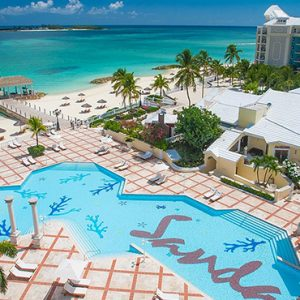 luxury Bahamas holiday Packages Sandals Royal Bahamian Exterior