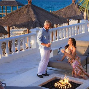 luxury Bahamas holiday Packages Sandals Royal Bahamian Firepit