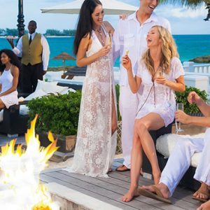 luxury Bahamas holiday Packages Sandals Royal Bahamian Firepit 2