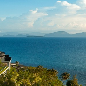 Conrad Koh Samui - Luxury Thailand Holiday packages - aerial view