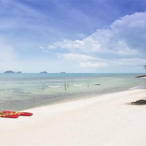 Conrad Koh Samui - Luxury Thailand Holiday packages - beach