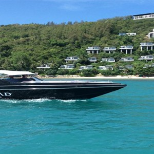 Conrad Koh Samui - Luxury Thailand Holiday packages - boat
