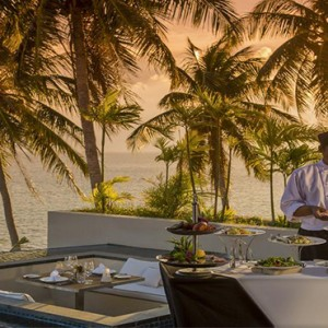 Conrad Koh Samui - Luxury Thailand Holiday packages - chef by pool