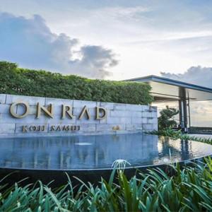 Conrad Koh Samui - Luxury Thailand Holiday packages - conrad hotel entrance