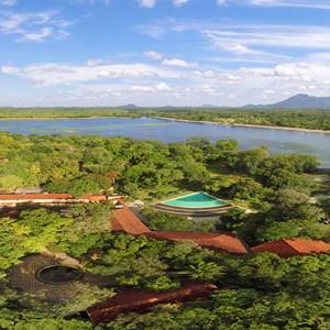 Habarana Village by Cinnamon - Luxury Sri Lanka holiday packages - aerial view