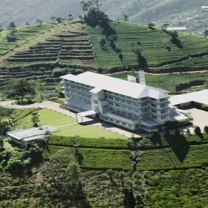 Heritance Tea Factory - Luxury Sri Lanka Holiday Packages - aerial view